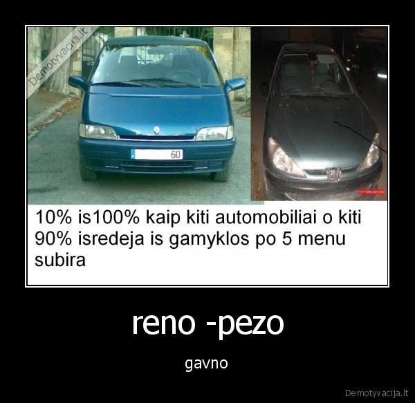 Reno Pezo Demotyvacija Lt